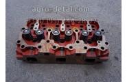 Головка блока цилиндров 04-06С1-1 в сборе с клапанами (01МТГ-06с9-10) дизельного двигателя А 01,А 01М
