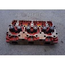 Головка блока цилиндров 04-06С1-1 в сборе с клапанами (01МТГ-06с9-10),дизельного двигателя А 01,А 01М