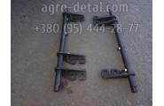 Валик 01-06С25 декомпрессора в сборе механизма газораспределения двигателя А 01