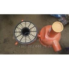Воздухоочиститель 01МЛ-12С3 ( 01МЛ-12С3.10 ) в сборе с касетой,двигателя А 01,А 01М,Д 461,Д 440,Д-442
