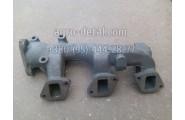 Коллектор выпускной задний 31-07С2 двигателя СМД 31,СМД 31А,СМД 31.01,СМД 31Б.04 комбайна Дон 1500