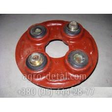 Головка кардана в сборе 77.36.011 (мягкое соединение) передачи карданной, трактора ДТ-75,ДТ-75Н,ДТ-75М,ДТ-75МВ,ДТ-75НБ