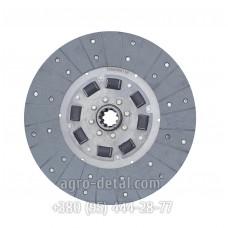 Диск ведомый 75-1604040 А6 муфты главного сцепления (диск фередо),двигателя Д 243 трактора ЮМЗ 6,ЮМЗ 6Л,ЮМЗ 6АЛ,ЮМЗ 6К