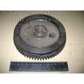 Маховик 75.24.104-3Г пускового двигателя ПД 10 старого образца с канавкой