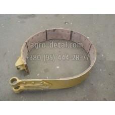 Лента тормоза 18360-01СП бортового фрикциона бульдозера Т130