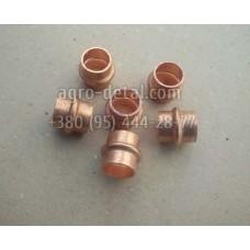 Трубка 02218 водяная медная головки блока двигателя Д108,Д160