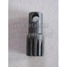 Валик шлицевой 4641500100-01 насоса-дозатора Т 150