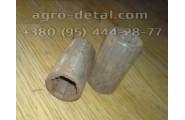 Втулка шлицевая 125.40.123-1 вала рулевого механизма,гидроуселителя руля  Т-151к,Т-156,Т-157,Т-17221