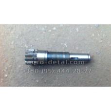 Вал СШ20.22.527-1 привода гидронасоса НШ 10 колесного трактора Т 16,Т 16 М,Т 16 МГ,СШ 2540