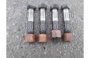 Болт шатуна с гайкой (с медным покрытием) дизельного двигателя Д-21,Д-37,Д-144 трактора Т16М,Т-25,Т-40