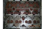 Головка блока цилиндров 14-06с9  дизельного двигателя СМД-14 гусеничного трактора Т 74 ,Т-74 С1,Т-74 С2