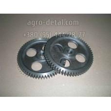 Колесо зубчатое СМД1-0904А шестерня масляного насоса, двигателя СМД-14,СМД-18 трактора Т 74 ,Т-74 С1,Т-74 С2