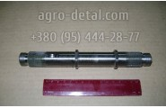 Вал привода вентилятора 236-1308050-В длинной L=215 двигателя ЯМЗ 236,ЯМЗ-236М2,ЯМЗ 236Д.