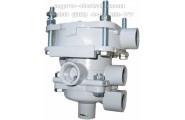 Клапан  100-35022070 управления тормозами прицепа с двухпроводным приводом ЗИЛ 133ГЯ