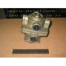 Кран тормозной  100-3514010  двухсекционный в сборе, автомобиля ЗИЛ-133 ГЯ,ЗИЛ-130