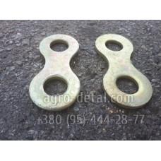 Накладка осей колодок 123В-3501133 для тормозного барабана автомобиля ЗИЛ 131