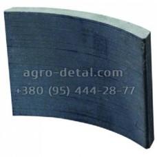 Накладка тормозная задняя 130-3502105 не сверленная, автомобиля ЗИЛ-133ГЯ