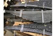 Рессора задняя 133Д-2912007 со стяжными хомутами в сборе 12 листов, автомобиля ЗИЛ-133 ГЯ